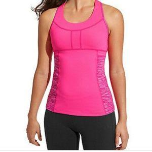 Athleta space dye PR pocket tank top